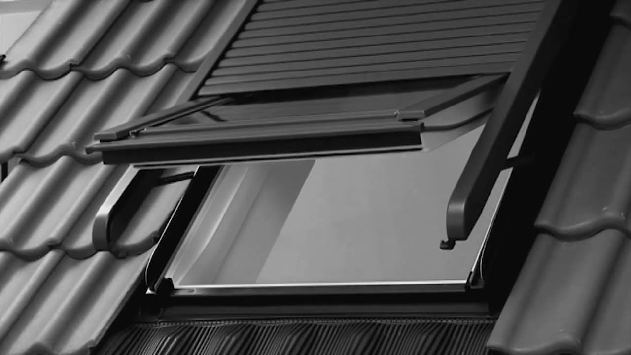 volet velux bloqu ressort velux fen tre de toit conseils. Black Bedroom Furniture Sets. Home Design Ideas